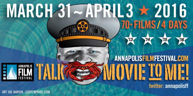 Annapolis Film Festival   Talk Movie to Me